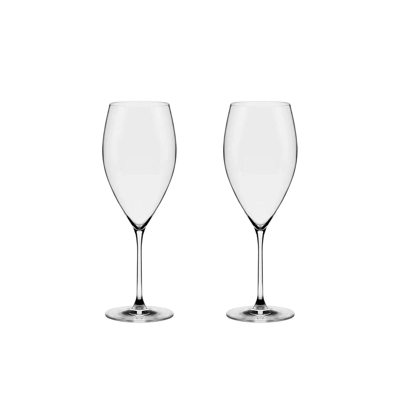 Conjunto de Taças de Cristal para Água e Vinho Athenas Classic 580ml 2pçs - Oxford